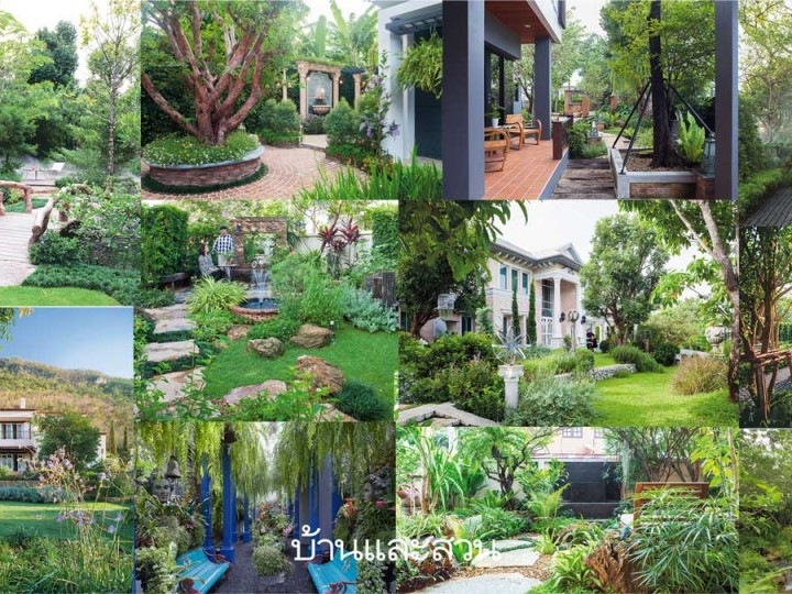 รวม 100 นักจัดสวนและบริษัทรับออกแบบสวน